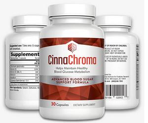 CinnaChroma 30 ct bottle