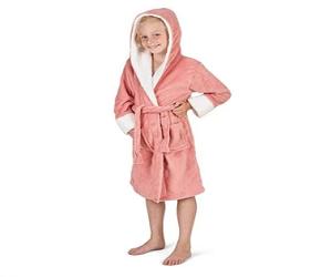 CityComfort Kids Dressing Gown | Hooded Super Soft Bathrobe for Boys, Girls