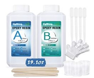 poxy Resin Clear Crystal Coating Kit + Extra 10% Off