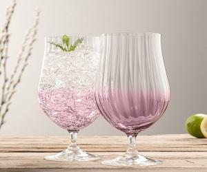 Cocktail Set of 2 Amethyst