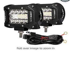 Flood Spot Combo LED Work Light Pods Triple Row Work Driving Lamp