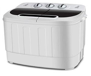 Compact Mini Twin Tub Washing Machine
