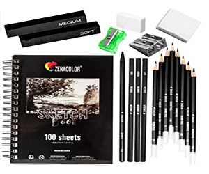Complete Sketch Kit For Beginners Or Professional