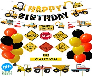 Construction Birthday Party Supplies