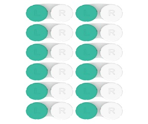 Contact Lens Cases 12 Pack
