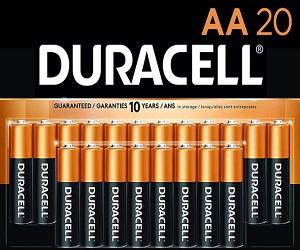 CopperTop AA 20 Alkaline Batteries