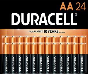 CopperTop AA 24 Alkaline Batteries