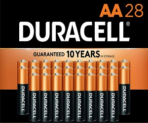 CopperTop Alkaline Batteries AA 28