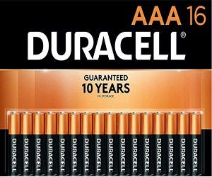 CopperTop Alkaline Batteries AAA 16