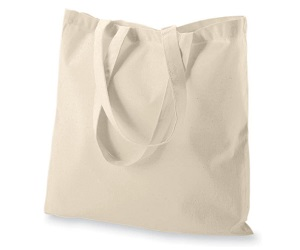 Cotton Reusable Grocery Bags With Long Handle