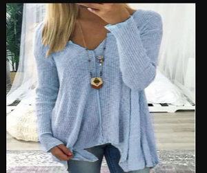 Cotton Solid Casual Tops