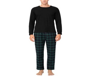 Cotton Woven Flannel Pajama Lounge