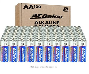 Maximum Power Super Alkaline Battery,