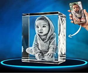Crystal Photo Rectangle Gifts For Son