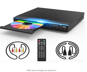 DVD Player for TV, DVD CD Player with HD 1080p + Extra 8% Off