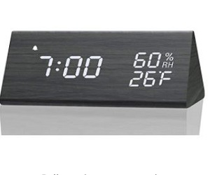 Digital Alarm Clock, with Electronic LED
