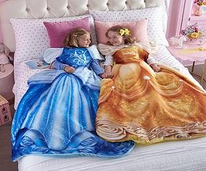 Disney Princess Blankie Tails