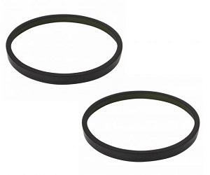 Dodge Chrysler 2 Piece ABS Tone Ring Set TRQ BSA14836
