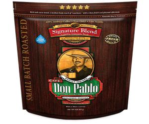 Don Pablo Whole Bean Coffee