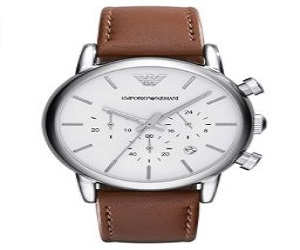 Armani Men's Chronograph Dress Watch