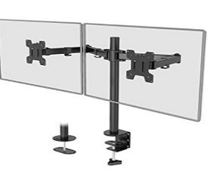 Dual LCD Monitor Fully Adjustable Desk + Extra 10% Off
