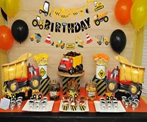 Dump Truck Party Decorations Kits Set