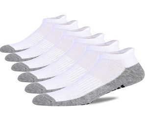 Mens Ankle Socks 6 Pack