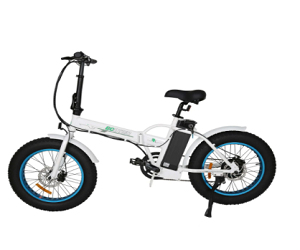 Ecotric Fat Tire Portable and Folding Electric Bike
