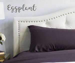 Eggplant Sheet Set