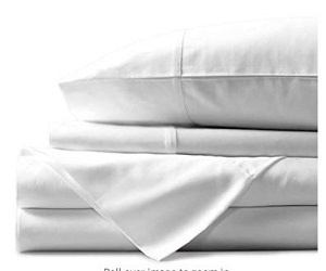 Egyptian White King Sheets Set + Extra 10% Off