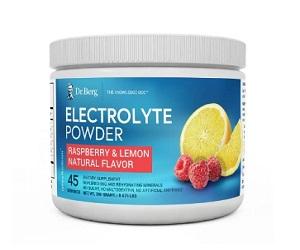 Electrolyte Powder Raspberry Lemon