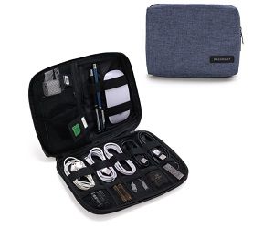 Electronic Organizer Small Travel Cable Bag