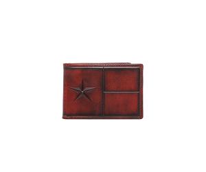 Embossed Lonestar Wallet