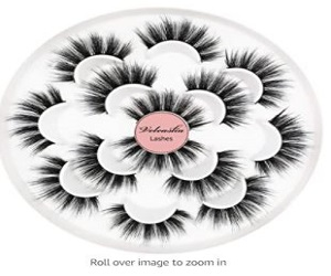 Fluffy Natural False Eyelashes
