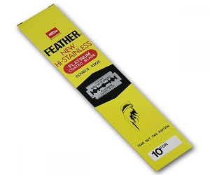 Feather Platinum 200 Safety Razor Blades Trade Pack