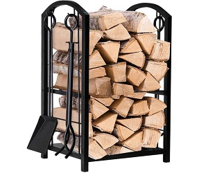 Fireplace Firewood Holder
