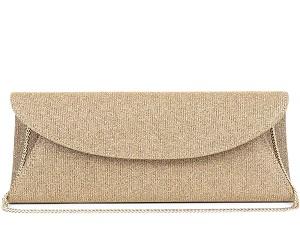 Frida Shimmer Clutch Bag