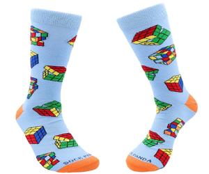 Fun Puzzle Cube Socks