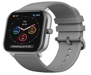 GTS Fitness Smartwatch With Heart Rate Monitor