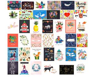 Greeting Cards 40 Assortment
