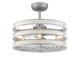 Gulliver Wide Ceiling Fan 3 Light