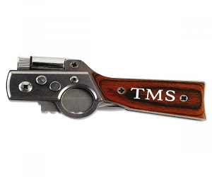 Gun-Shaped Knife