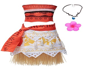 Halloween Cosplay Costume Skirt Set with Necklace