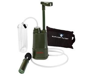 Hand Pump Camping Water Filter