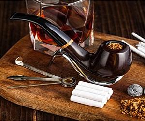 Handmade Wood Pipe Kit For Smoking