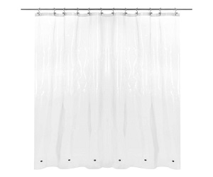 Heavy Duty PEVA Plastic Shower Curtain For Bathroom