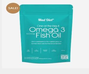 High Strength Omega-3 60 softgels