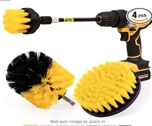 Drill Scrub Brushes Kit Set For All Purpose