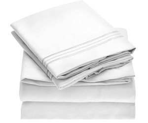 Hotel Luxury 1800 Bedding Sheets And Pillowcases