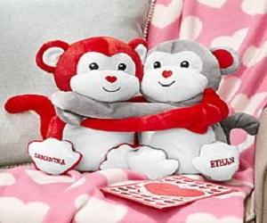 Hugs & Kisses Monkeys